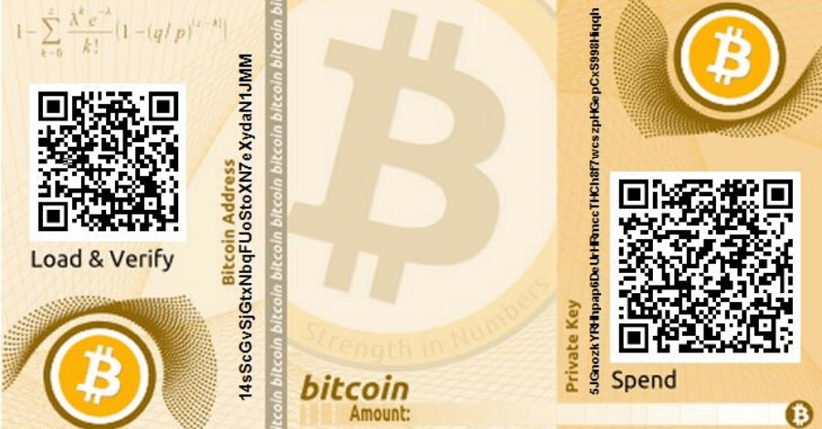 Como Fazer UMA cartesira de Papel Bitcoin
